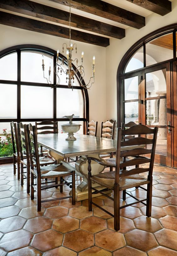 Mexican Tile Floor And Decor Ideas For Your Spanish Style