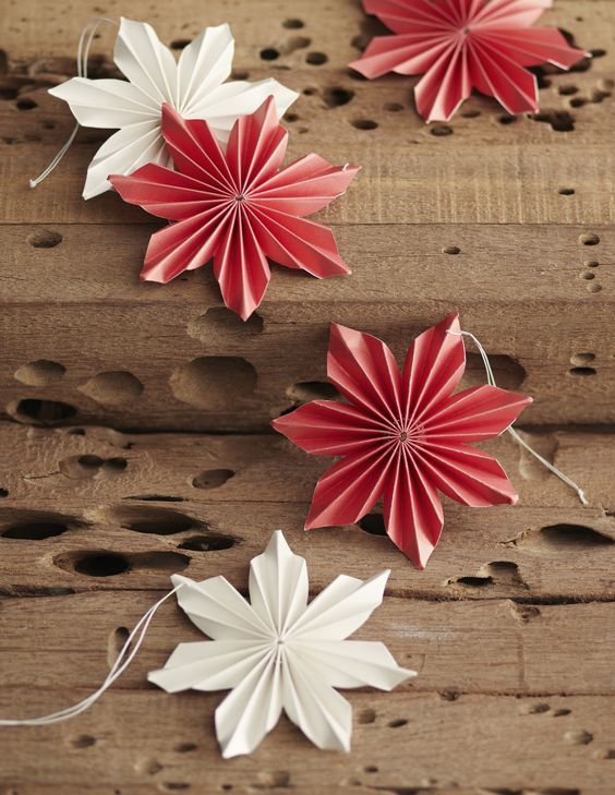 12 DIY Paper Ornaments To Create With The Kids Today