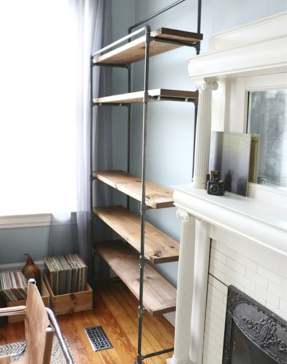 DIY Pipe Shelves – Easiest Ideas EVER