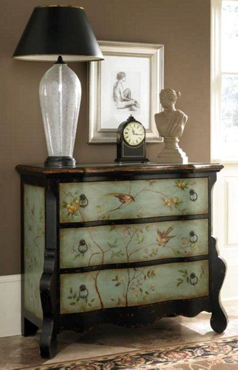 Hand painted furniture ideas by kreadiy diy ideas - Hand painted furniture ideas ...