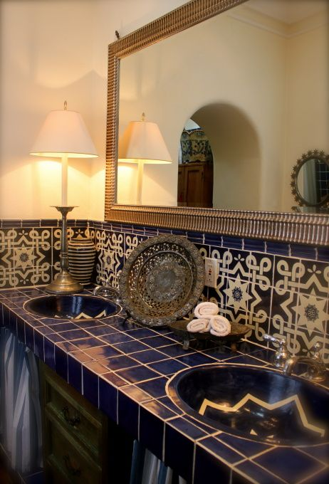 Mesmerizing Mexican Tile Bathroom Ideas - DIY Ideas
