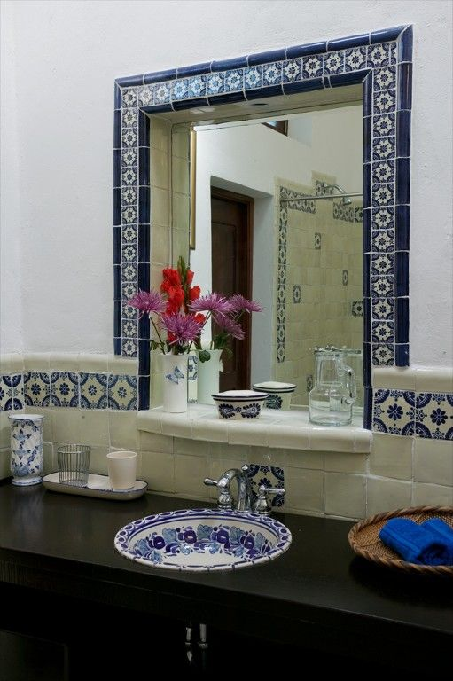 Mesmerizing Mexican Tile Bathroom Ideas Diy Ideas