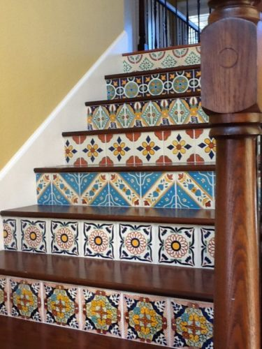 The Best Mexican Tile Stairs For Your Spanish Style Décor