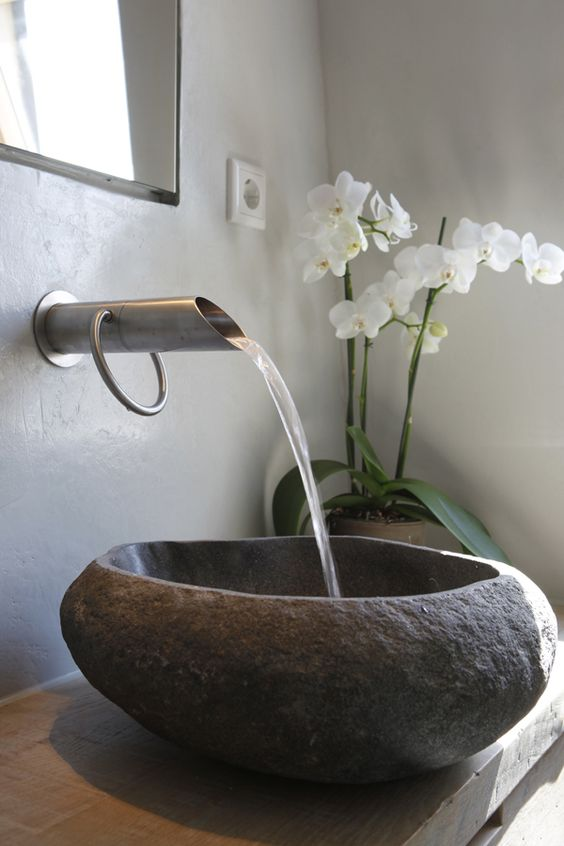 The Amazing Use For Stone Basins In Your Home